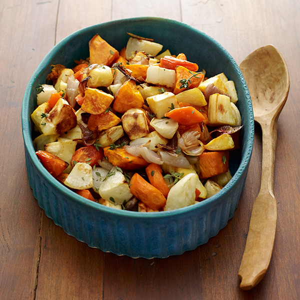 ... Watchers Recipe - Honey and Thyme Glazed Roasted Root Vegetables