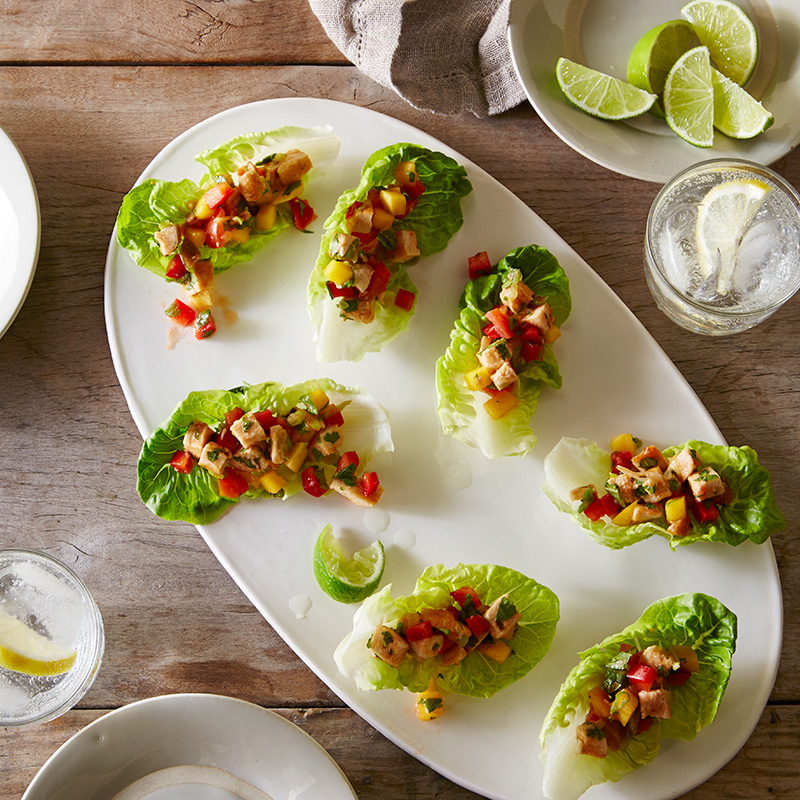 Photo of Spicy Chicken in Lettuce Cups by WW