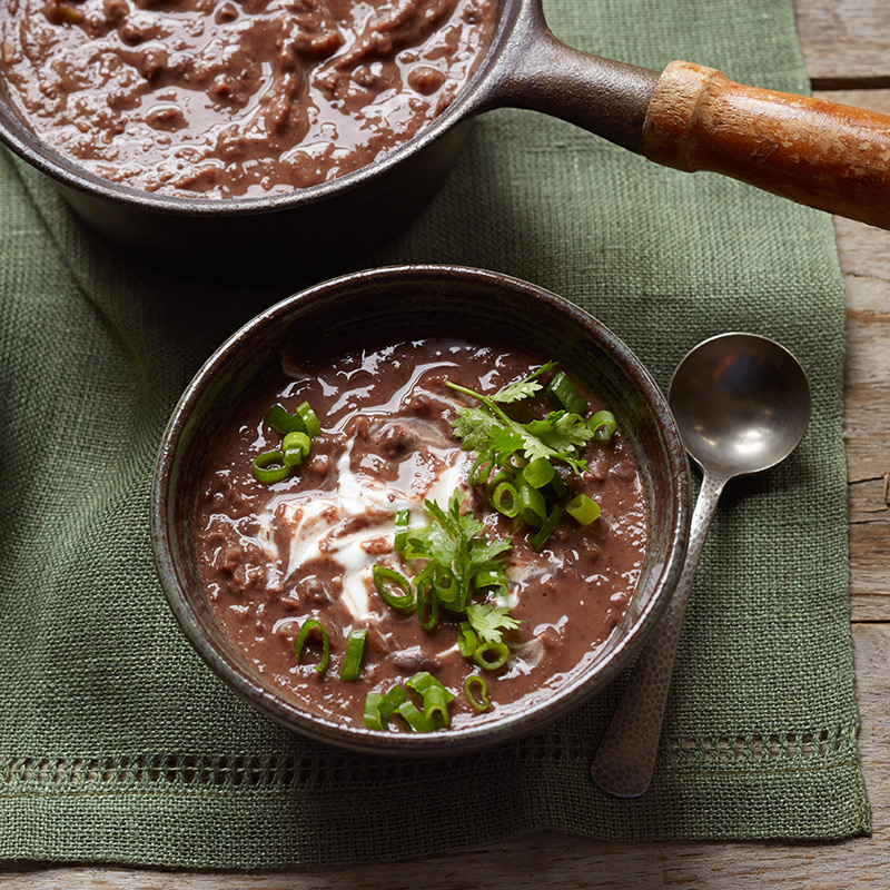 Photo of Chili-lime black bean soup by WW