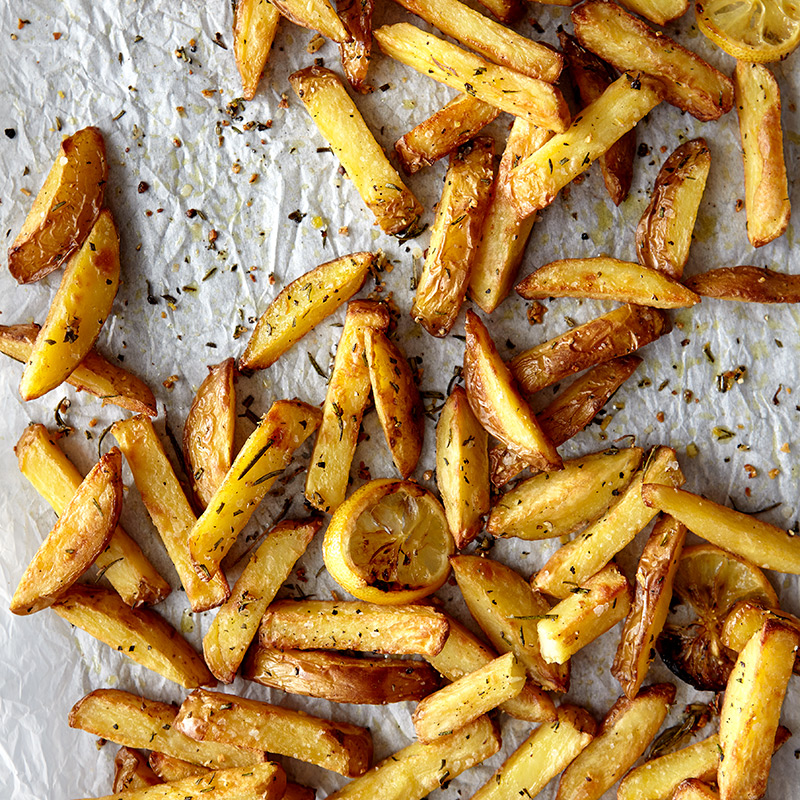 Photo of Garlic, rosemary and lemon oven fries by WW