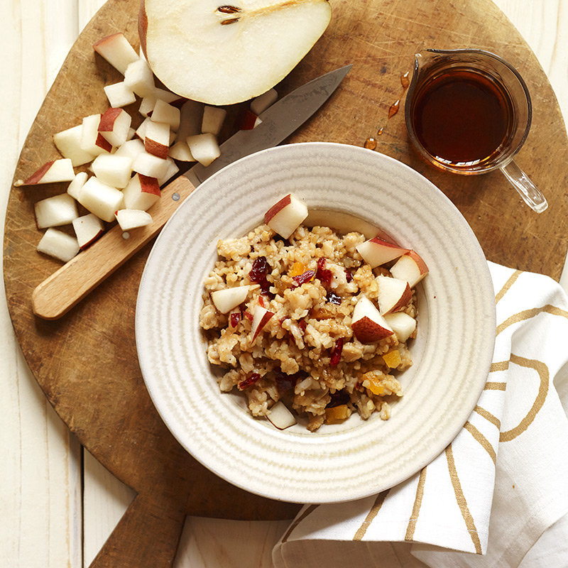 Photo of Bulgur and Oat Hot Cereal with Fruit by WW
