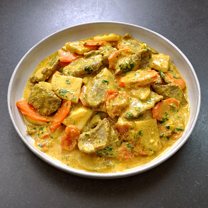 Photo of Indian curried lamb with vegetables by WW