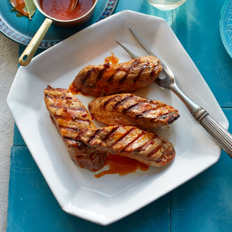 Photo of Marinated grilled pork tenderloin by WW