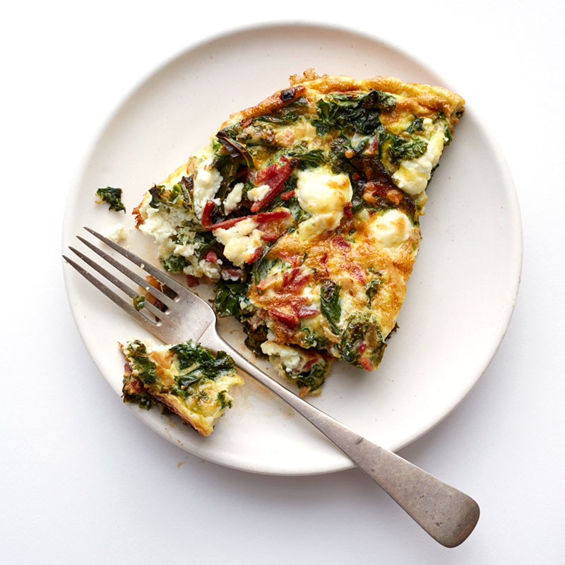 Photo of Kale and bacon frittata by WW