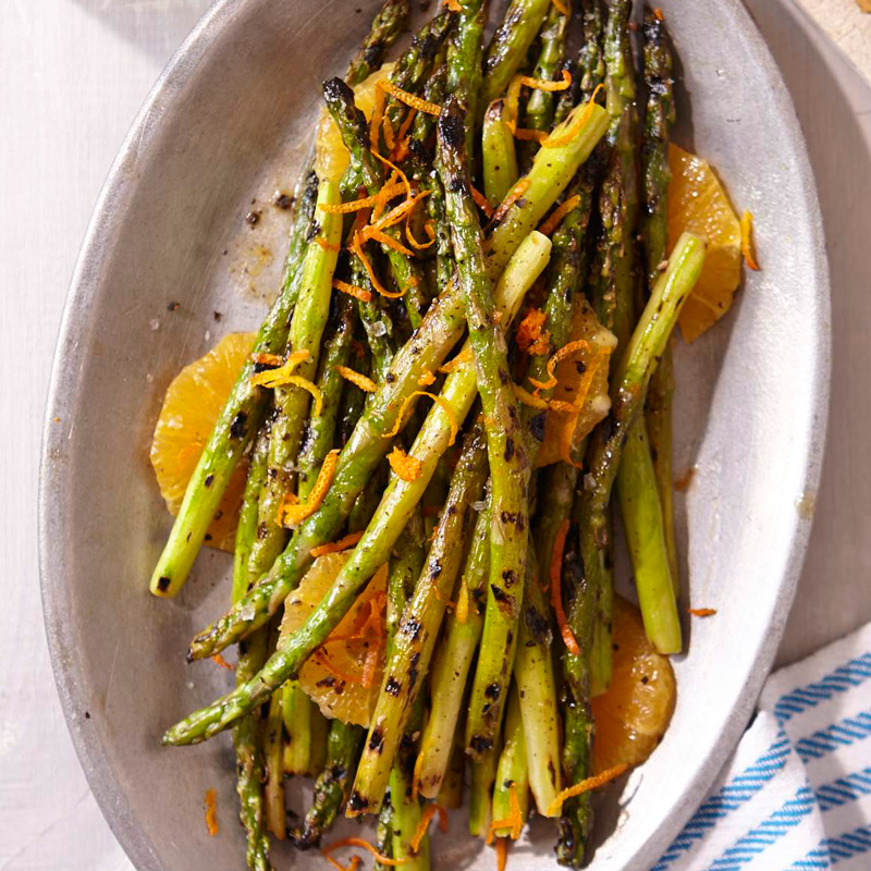 Photo of Grilled asparagus with orange butter by WW