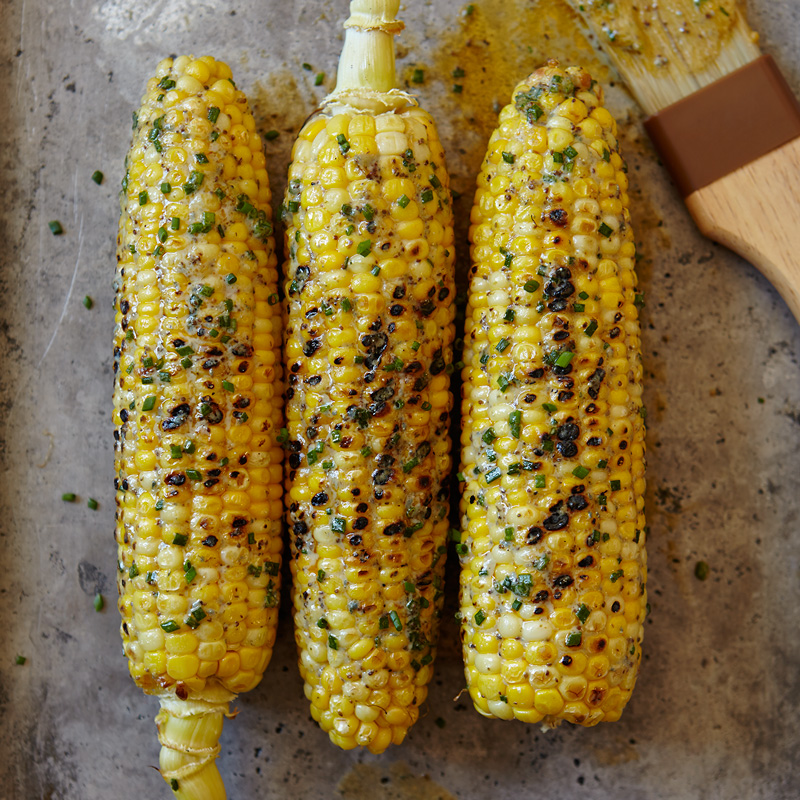 Photo of Buffalo-style corn on the cob by WW