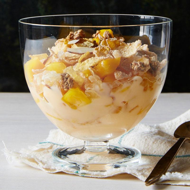 Photo of Mango ginger yogurt parfaits by WW