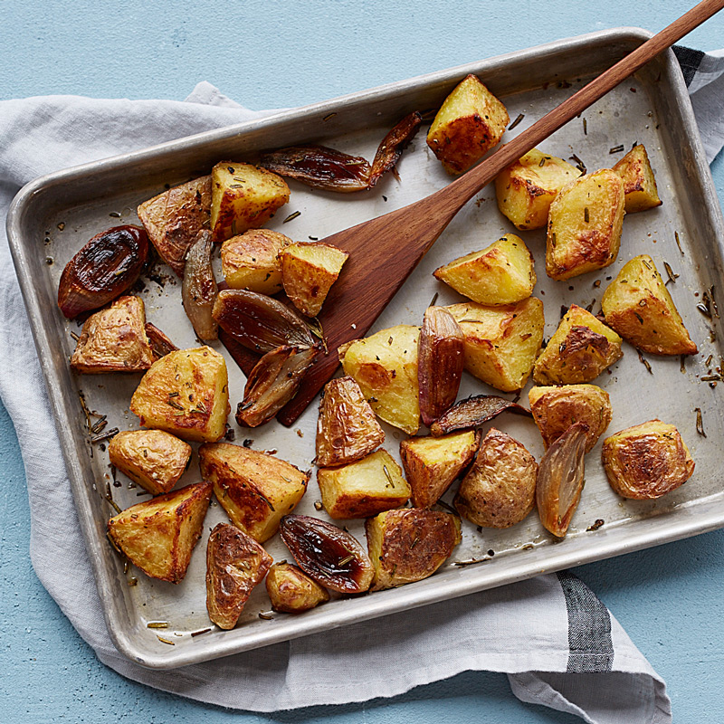 Photo of Rosemary roasted potatoes by WW