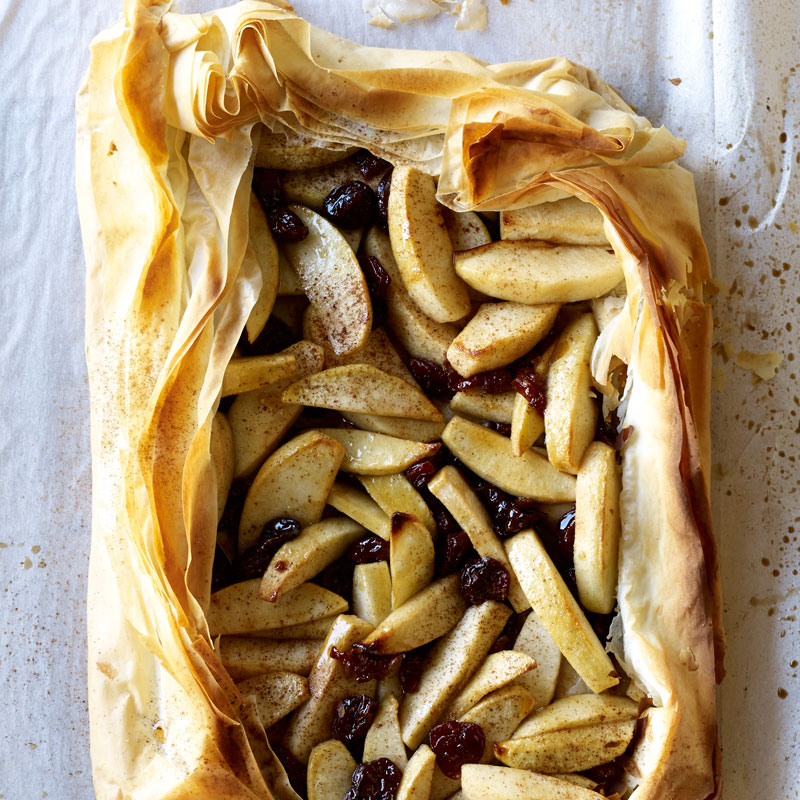 Photo of Spiced Apple-Cherry Phyllo Tart by WW