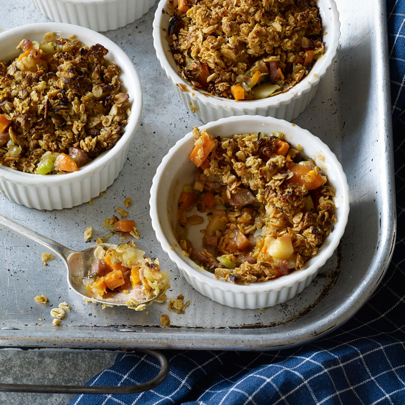 Photo of Savory Sausage-Apple Crumbles by WW