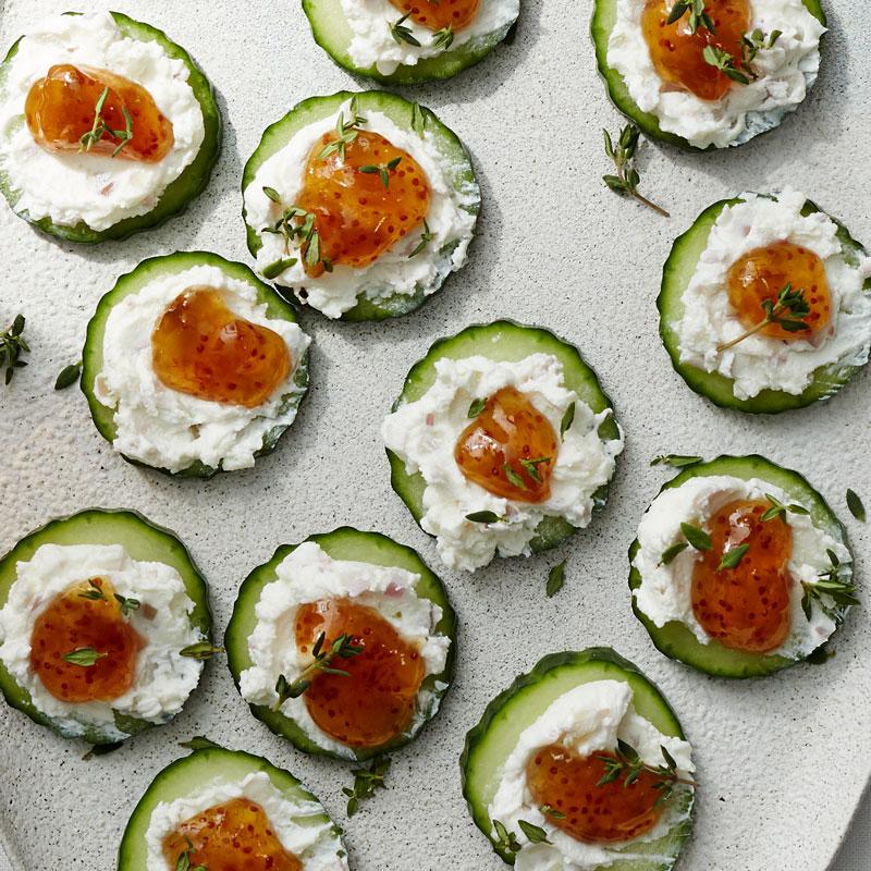 Photo of Creamy Cucumber Bites by WW
