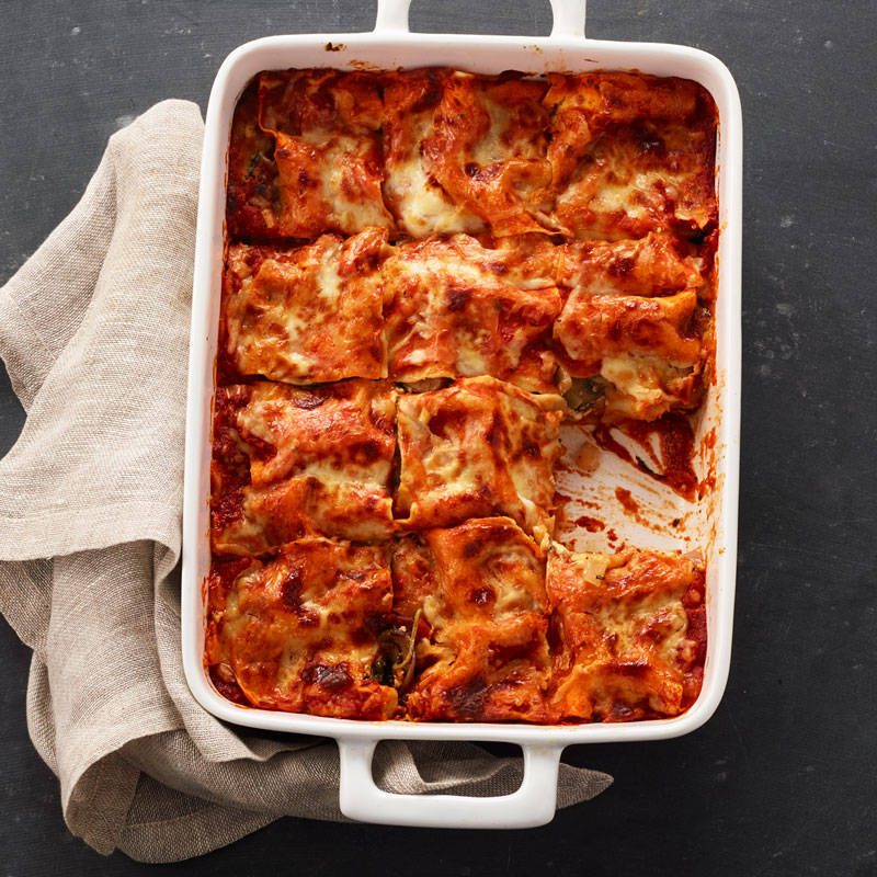 Photo of Cremini and Spinach Vegetable Lasagna by WW