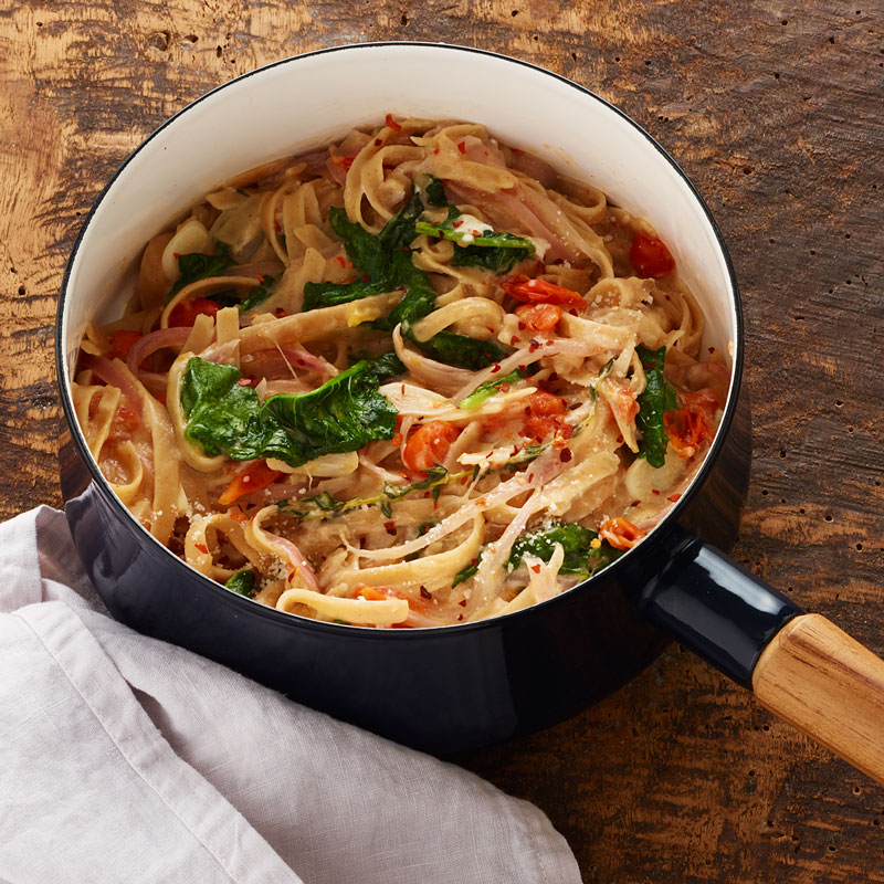 Photo of One-pot linguine with winter greens by WW