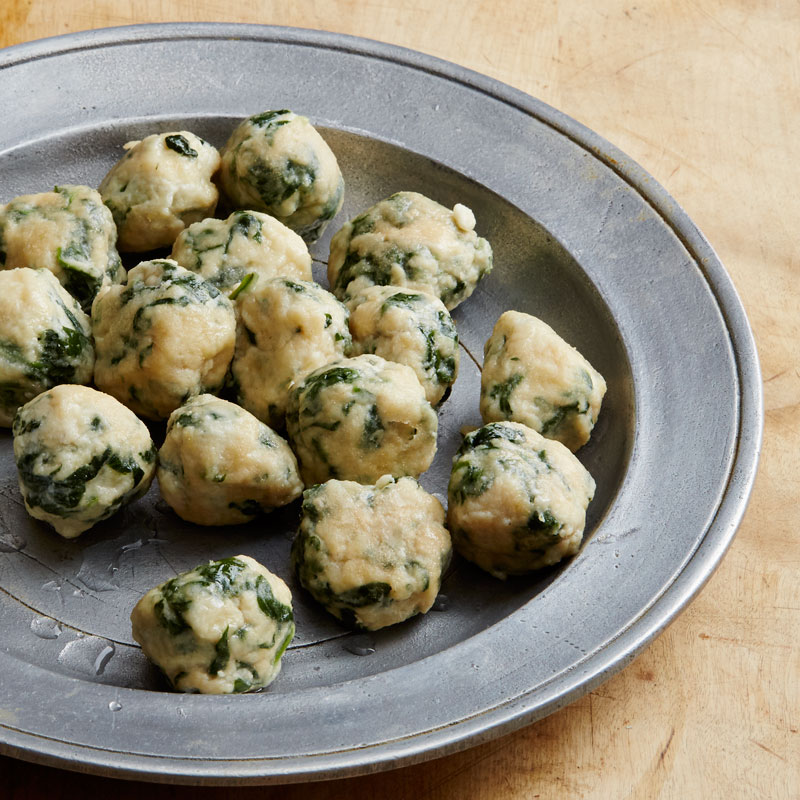 Photo of Spinach-Ricotta Dumplings by WW