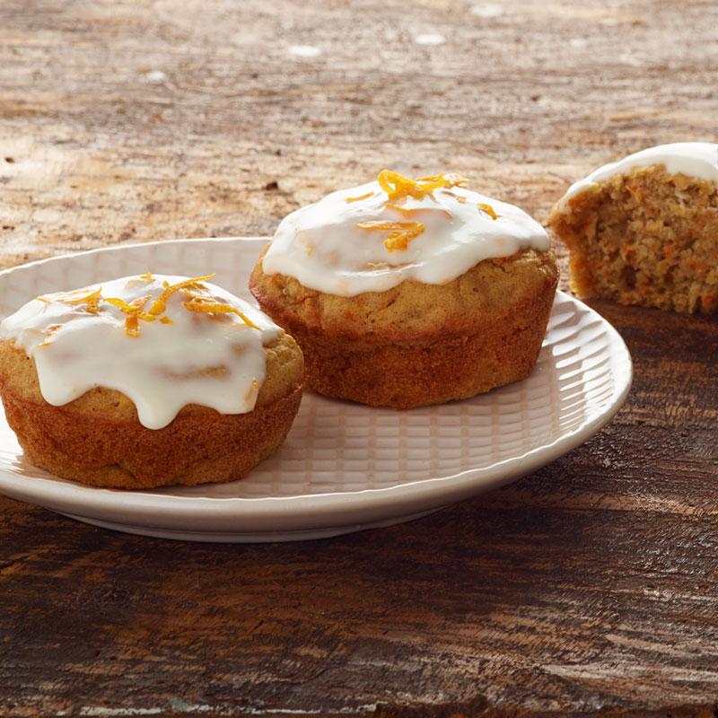 Glazed Carrot Cake Muffins Recipes Ww Usa