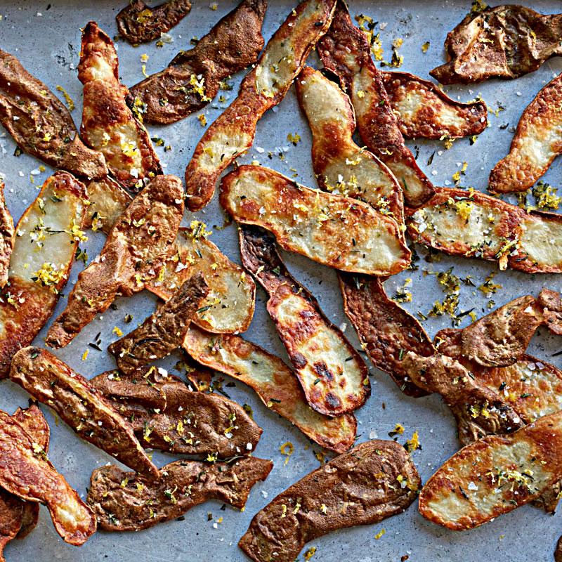 Photo of Potato peel crisps with rosemary-lemon salt by WW