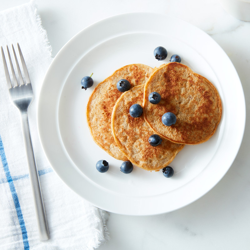Photo of Peanut butter-banana pancakes by WW