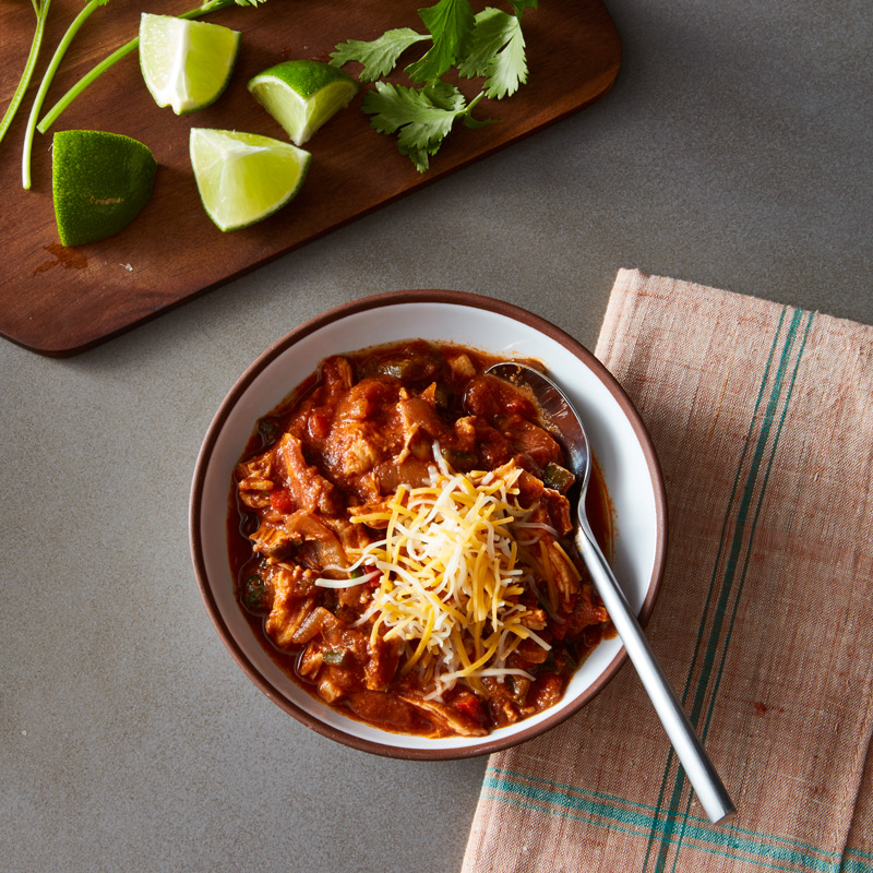 Photo of Slow cooker ancho chicken chili by WW