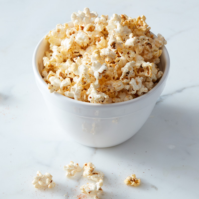 Photo of Spicy Chili Peanut Popcorn by WW