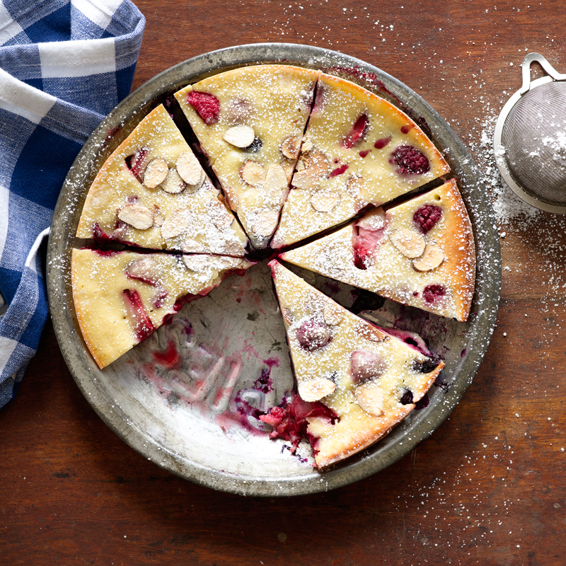 Photo of Berry-almond clafouti by WW