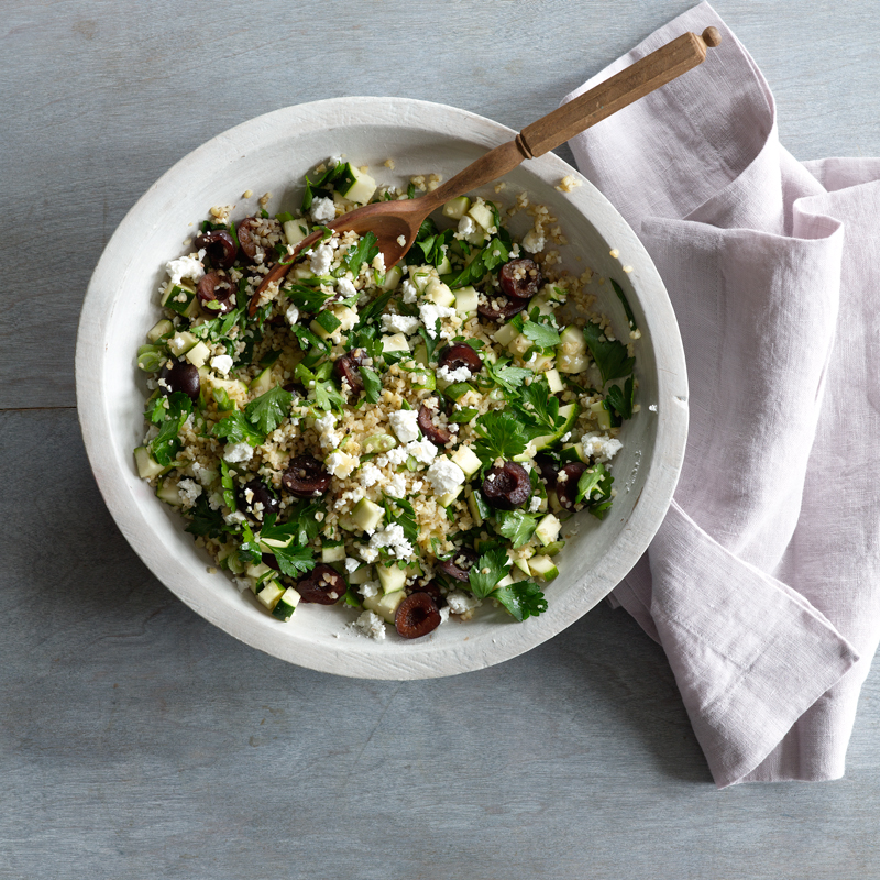 Photo of Bulgur salad with cherries and feta by WW