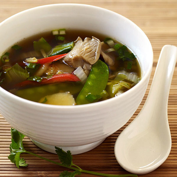 Photo of Asian-Inspired Vegetable Soup by WW