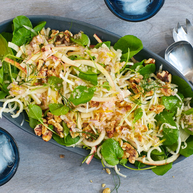 Photo of Spiralized apple and fennel salad by WW