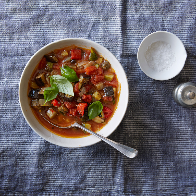 Photo of Rustic roasted ratatouille soup by WW