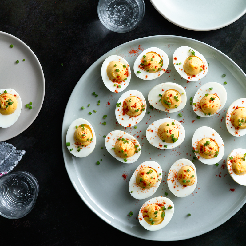 Photo of Smoked deviled eggs by WW