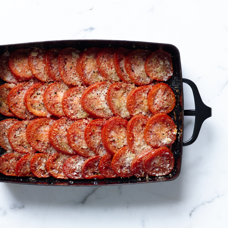 Photo of Tomato gratin with shallot and balsamic vinegar by WW