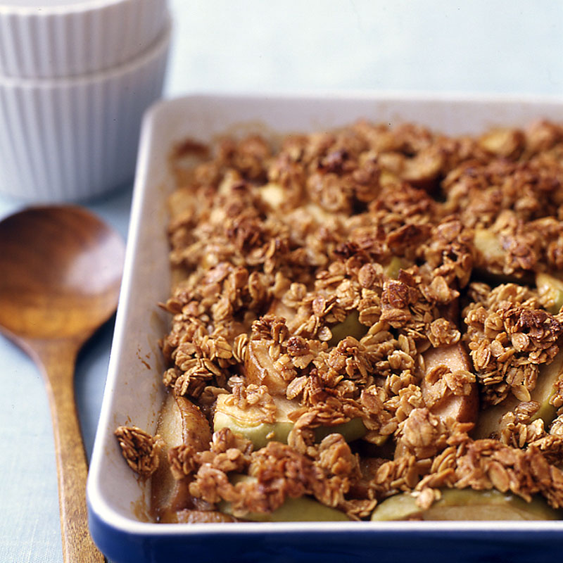 apple-pear crisp recipe | weight watchers