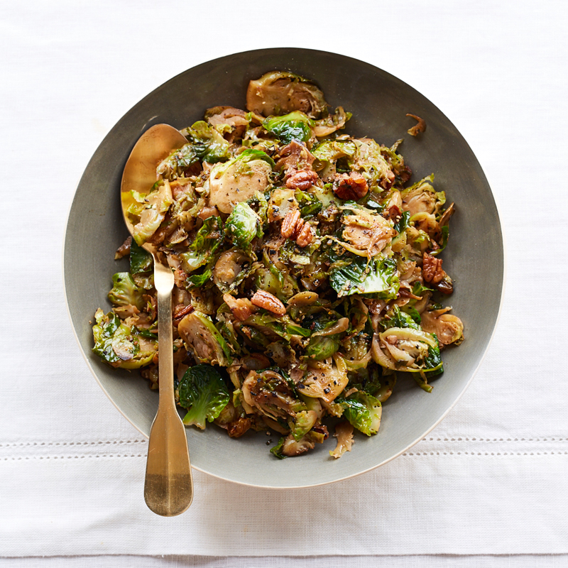 Photo of Brussels Sprouts with Raisins and Pecans by WW