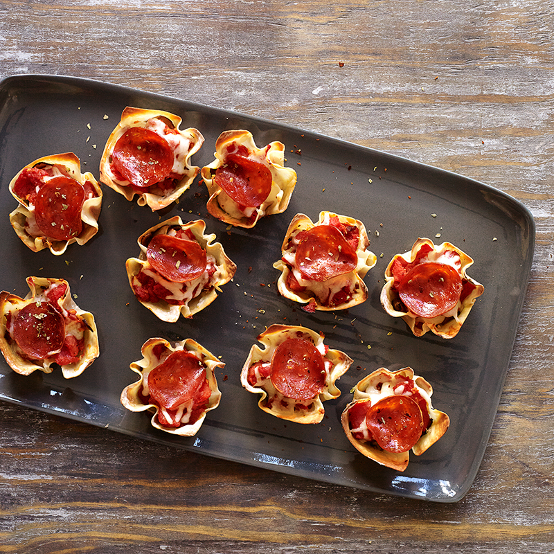 WW Pepperoni Pizza Cups