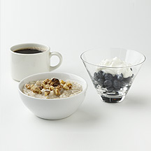 Photo of Walnut Oatmeal and Yogurt  by WW