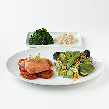 Photo of Salmon with Brown Rice and Spinach  by WW