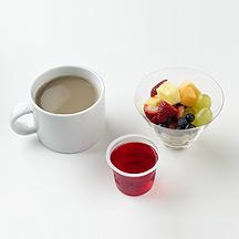 Photo of Gelatin, Espresso and Fresh Fruit by WW