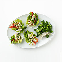 Photo of Chinese Take-Out Chicken Lettuce Wraps by WW