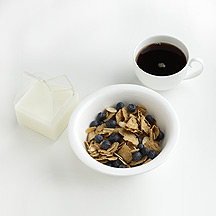 Photo of Cereal with Almonds and Blueberries by WW
