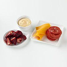Photo of Cheese and Tomato, Yogurt and Berries by WW