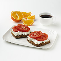 Photo of Cottage Cheese and Tomato  by WW