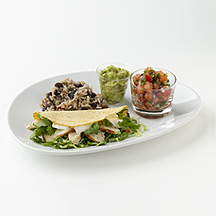 Photo of Fast-Food Taco with Rice and Beans by WW