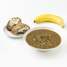 Photo of Deli Soup and a Roll by WW
