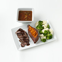 Photo of Steak, Sweet Potato and Veggies by WW