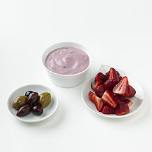 Photo of Yogurt, Strawberries and Olives by WW