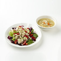 Photo of Soup and Tuna Salad by WW