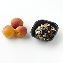 Photo of Apricots and Ice Cream by WW