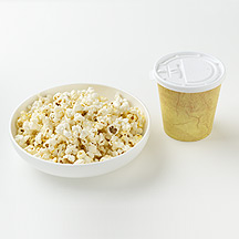 Photo of Popcorn and a Latte by WW