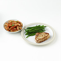 Photo of Pork with Pasta and Green Beans by WW