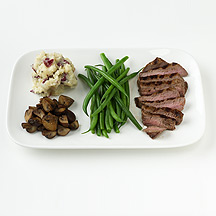 Photo of Steak with Potatoes and Green Beans by WW