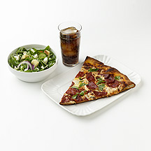 Photo of Italian-Restaurant Pizza and Salad  by WW